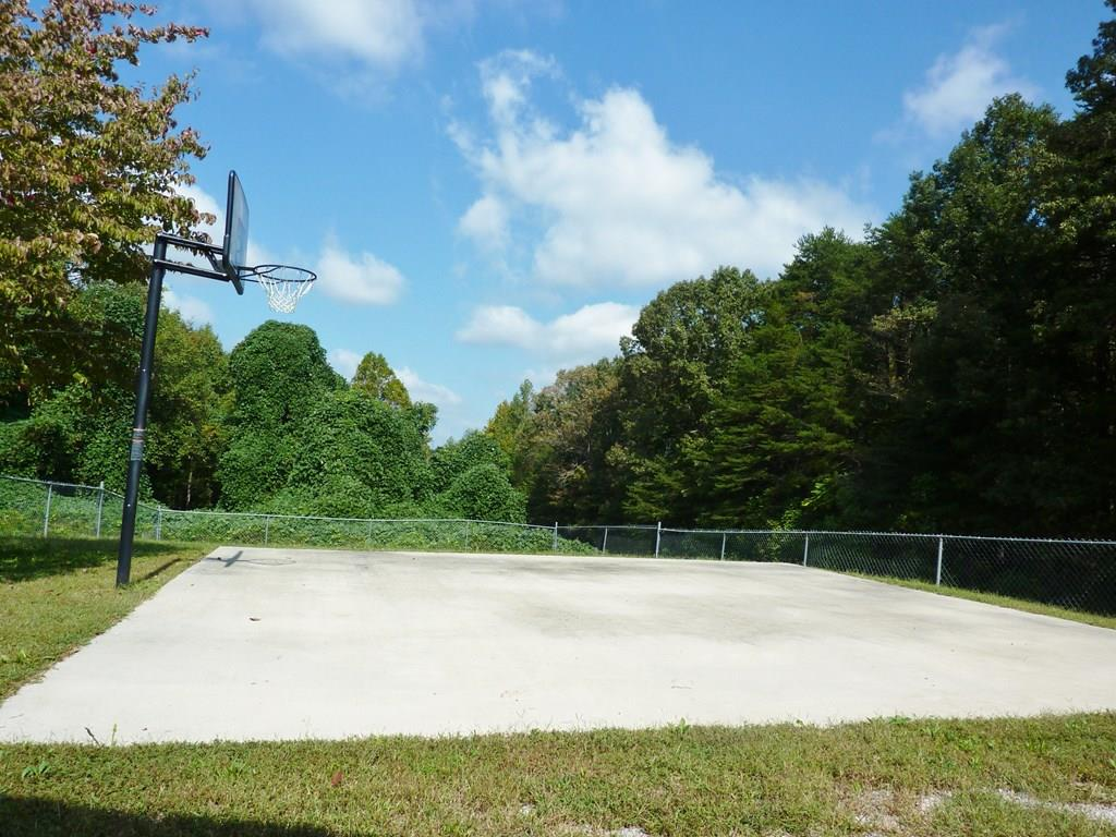 Basketball Pad & Goal Post